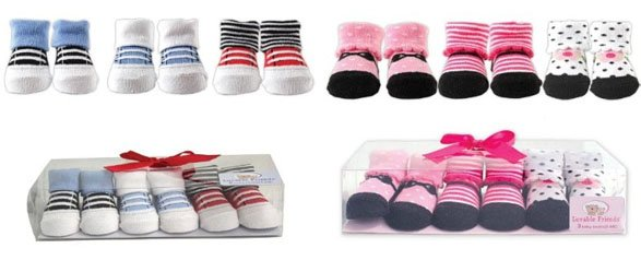 Little Shoe Socks Gift Set
