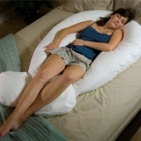 Comfort-U Total Body Pillow Full Support Pillow CU9000