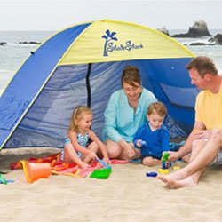 Shade Shack Instant Pop Up Family Beach Tent and Sun Shelter  sc 1 st  Baby Excellent & Best Baby Beach Tent Reviews 2017 - Baby Excellent