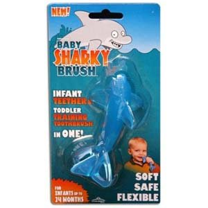 Baby Banana Original Sharky Brush