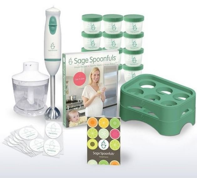 Sage Spoonfuls All Natural Baby Food System