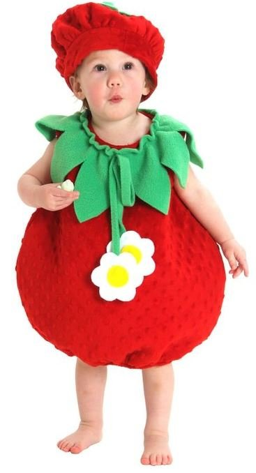 Adorable Strawberry Costume