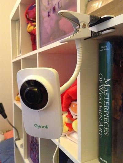 Gynoii Smart Baby Monitor in use