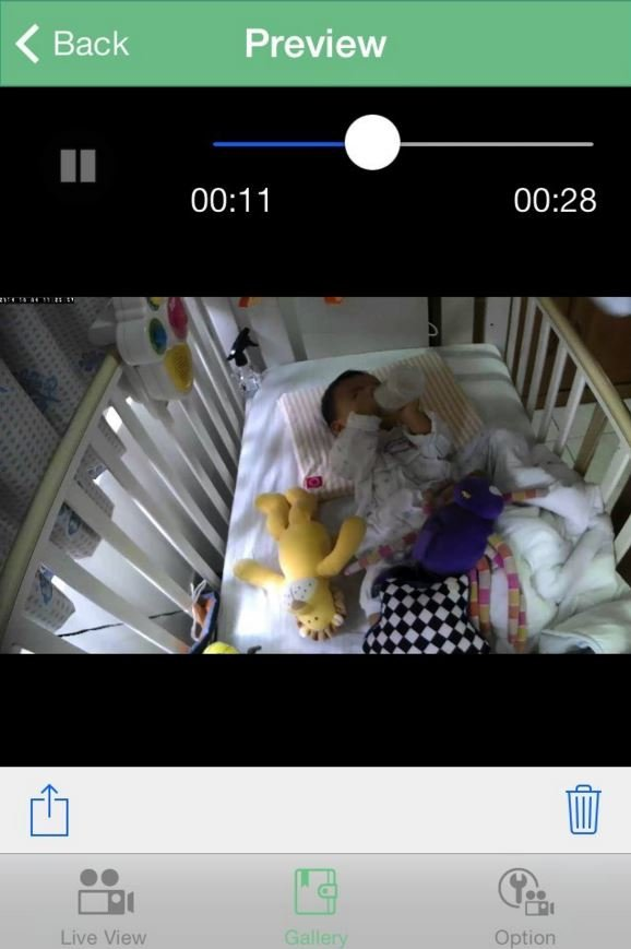 gynoii baby monitor app